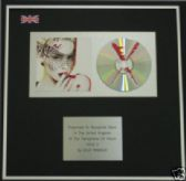 KYLIE MINOGUE - CD Album Award -   KYLIE X